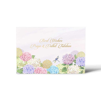 Hydrangea Flat Cards (Set of 40)
