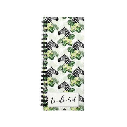 Peeping Zebras To-Do Notebook