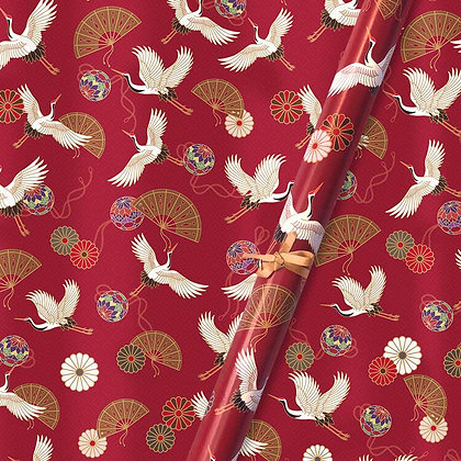 Oriental Flight Wrapping Papers (Set of 5)