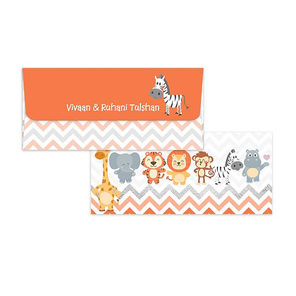 Baby Animals Money Envelopes (Set of 20)