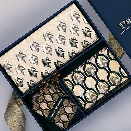 Gatsby Midi Box - Black/Grey