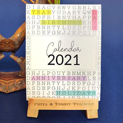 Calendar 2021-Adults