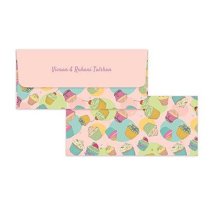Cupcake Money Envelopes (Set of 20)