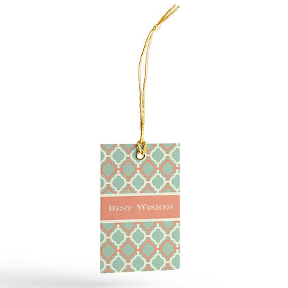 Pastel Jaali Gift Tags (Set of 20)