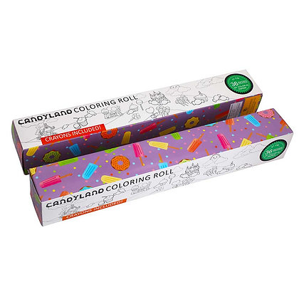 Lollies & Doughnuts Colouring Roll