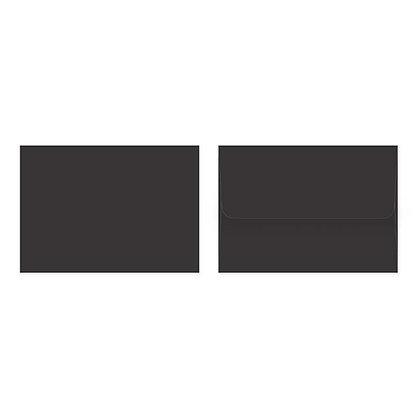 Fold Cards Envelopes (Set of 10) - Black