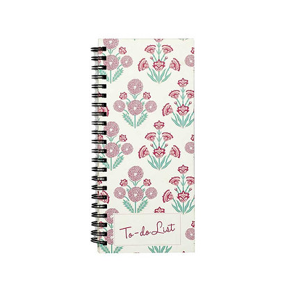Mughal Phool To-Do Notebook