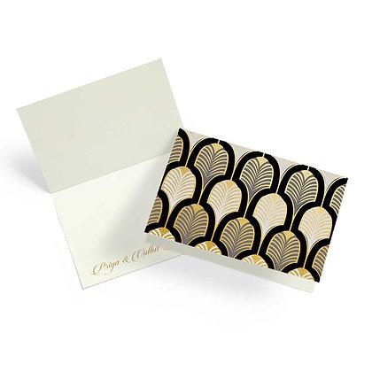 Gatsby Fold Cards (Set of 20)