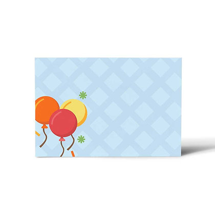 Circus Flat Cards (Set of 40)