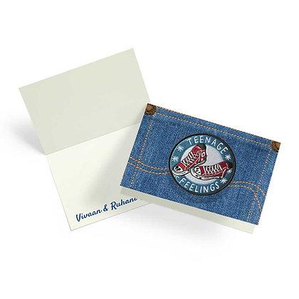 Denim Fold Cards (Set of 20)