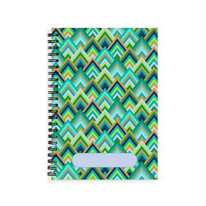 Forest Wave Journal Notebook