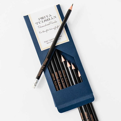 Personalised Pencils (Set of 10)