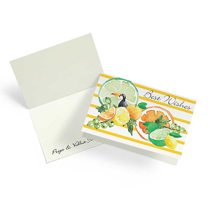 Citrus Summer Fold Cards (Set of 20)