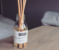 Our handcrafted diffusers gently scent y