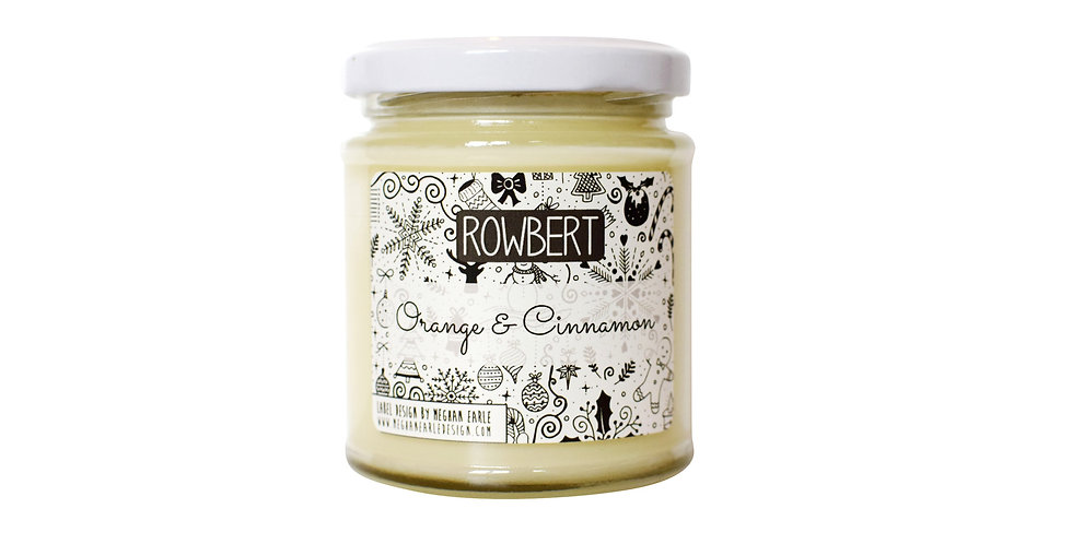 Orange & Cinnamon Candle