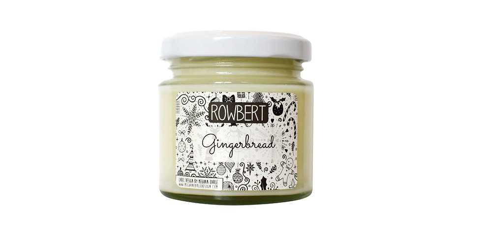 Gingerbread Candle (Small)