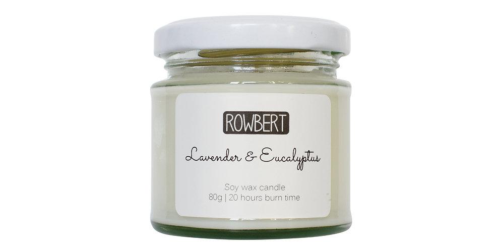 Lavender & Eucalyptus Candle (Small)