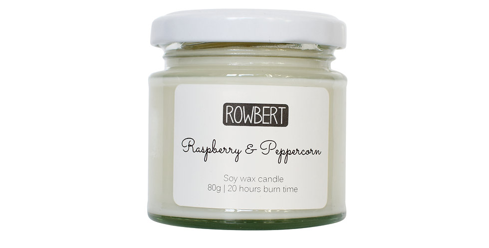 Raspberry & Peppercorn Candle (Small)