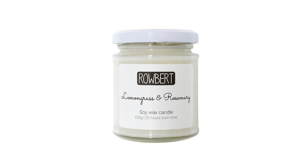 Lemongrass & Rosemary Candle