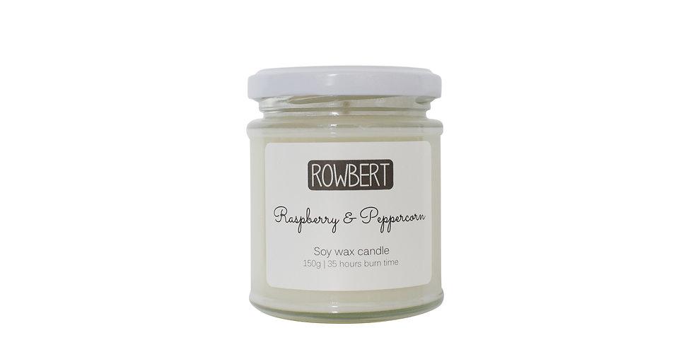 Raspberry & Peppercorn Candle