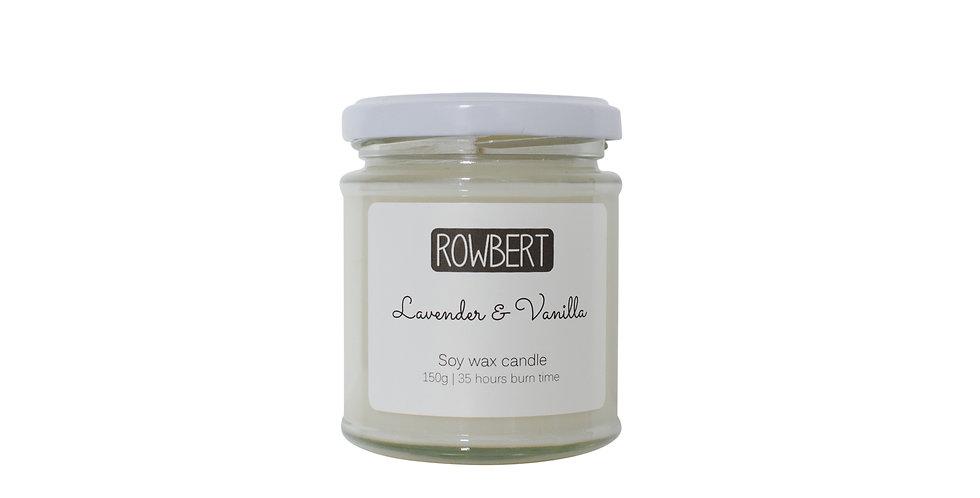 Lavender & Vanilla Candle