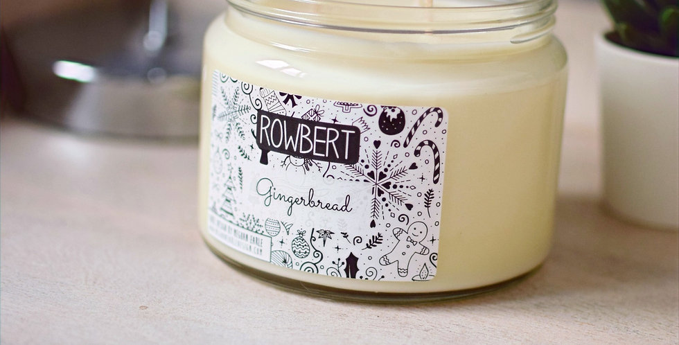 Gingerbread Candle (3 Wick)