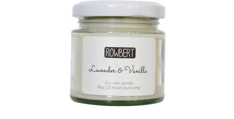 Lavender & Vanilla Candle (Small)