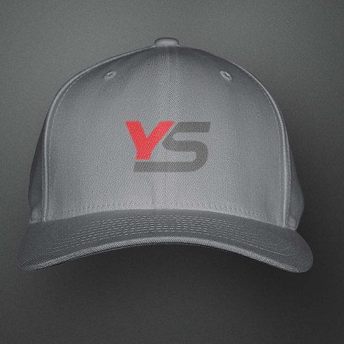 YoMan Sports YS Logo Grey Cap