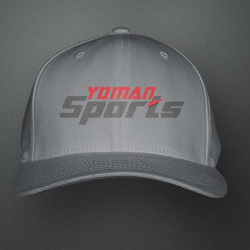 YoMan Sports Logo Grey Cap