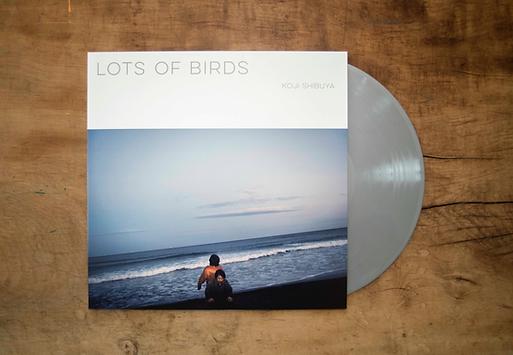 Lots of Birds 初回限定ソリッドシルバーバイナル + P16ブックレット + MP3DLコード