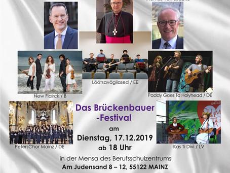 Estnische und lettische Stars auf dem 25. Internationalen Weihnachtsfestival Mainz