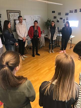 Gruppenarbeit auf dem SPS Riga 2019