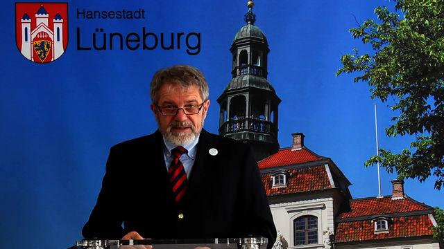 Grußwort des Lüneburger Oberbürgermeisters Ulrich Mädge