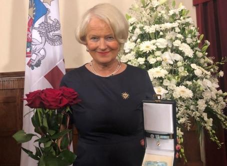 Lettische Orden – eine Auszeichnung Deutsch-Baltischer Arbeit