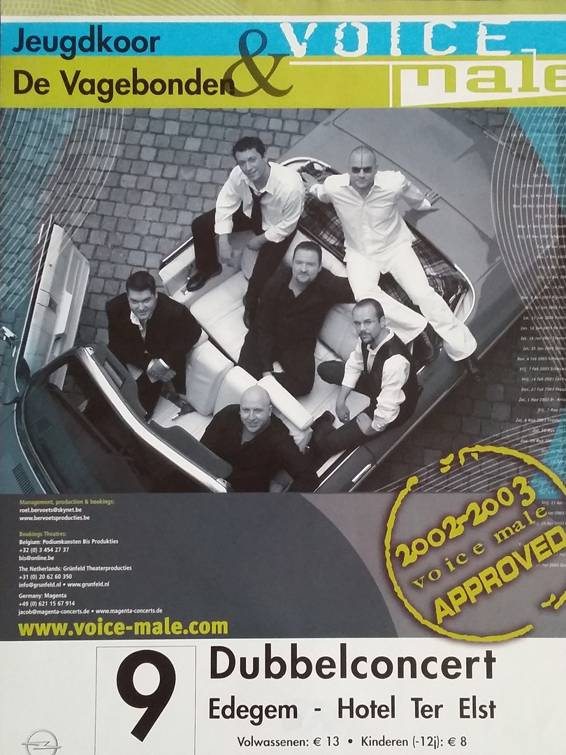 Voice Male & De Vagebonden - 2003