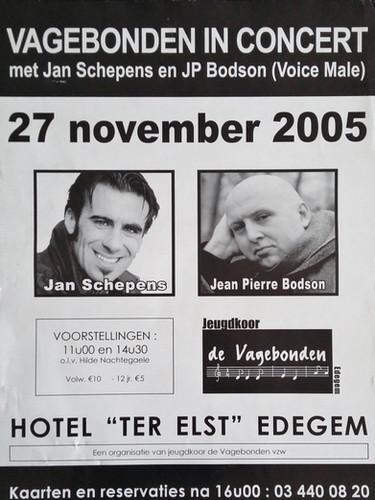 Jan Schepen en JP Bodson & De Vagebonden - 2005