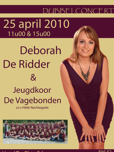 Deborah De Ridder & De Vagebonden - 2010