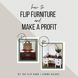 How to Flip Furniture and Make a Profit