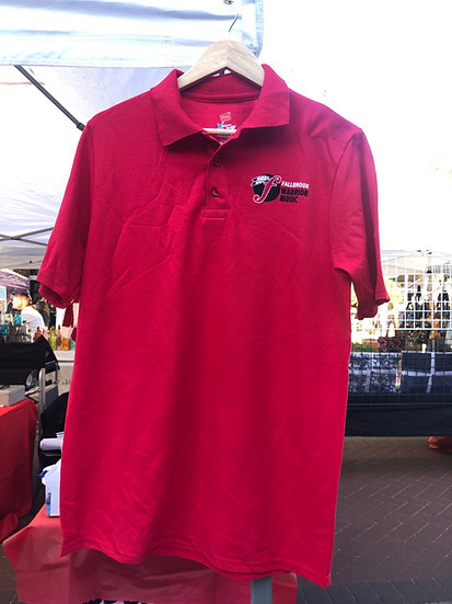 Cotton Red Polo
