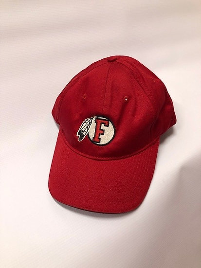 Fallbrook Music Baseball Cap red