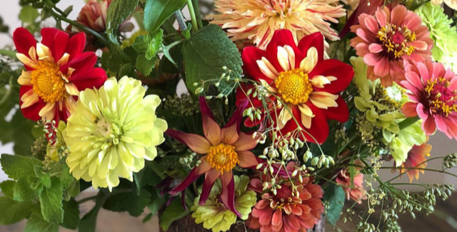 Late Fall/Holiday Flower Subscription