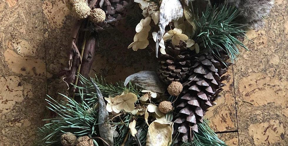 Wild Winter Wreath