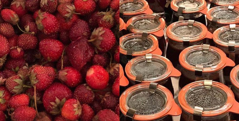 Strawberry Rose Petal Jam