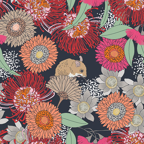 Floral Hopping mouse