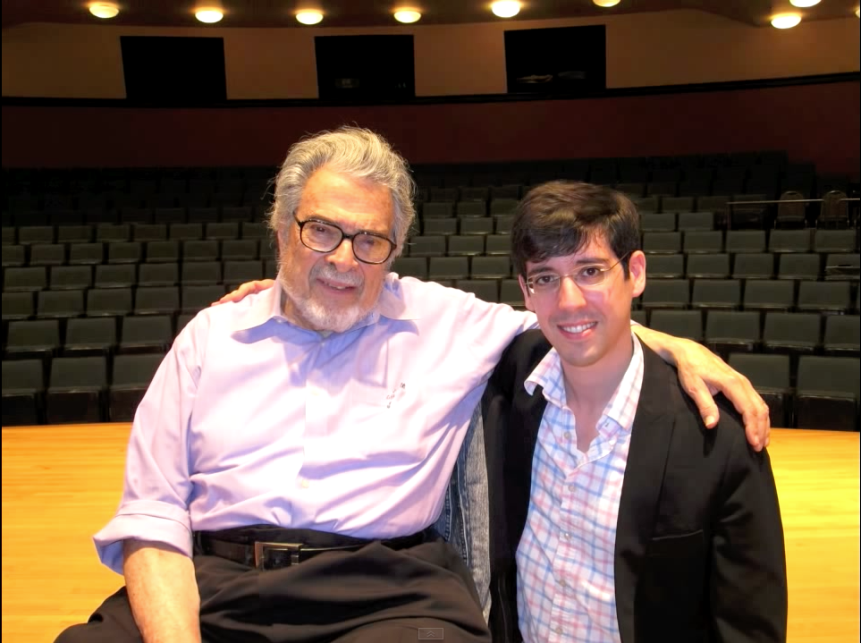 With Leon Fleisher