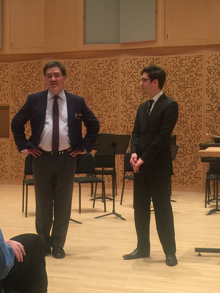 With Alan Gilbert