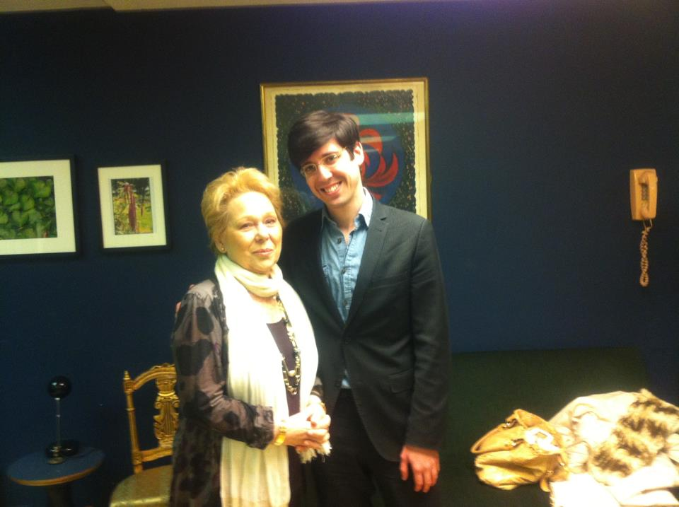 With Renata Scotto