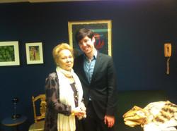 With Renata Scotto