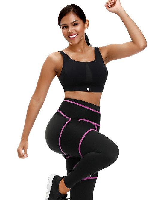 Pink/Black Unique Thigh Band Trainer