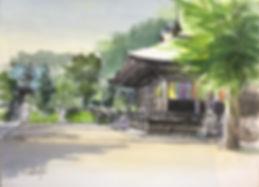 夏の中山法華経寺.JPG